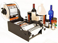 MBA01 - Manuelles Flaschen-Etikettiergerät